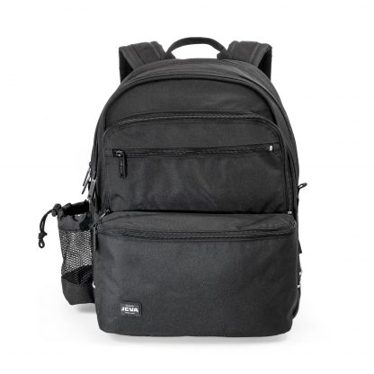rygsæk med plads til computer - black square