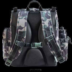 Ergonomisk skoletaske JEVA PRACTISED med rygstøtte