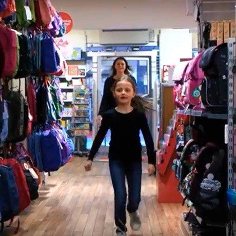Emilja køber ny JEVA INTERMEDIATE skoletaske