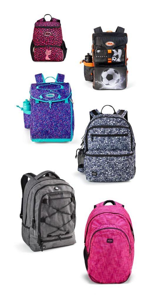 c1828c98b32 JEVA har lavet skoletasker, rygsække og penalhuse i over 60 år.
