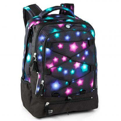sort rygsæk med stjernemønster, Estrella fra JEVA