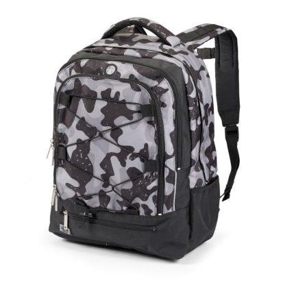 rygsæk med grå camouflage fra JEVA