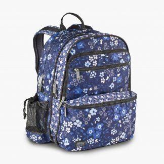 rygsæk med blomster fra JEVA
