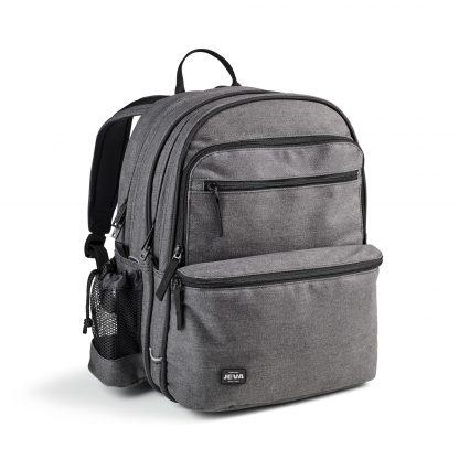 grå rygsæk til unge - denim SQUARE