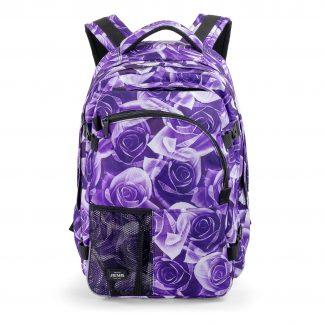 stor rygsæk til piger - purple rose supreme