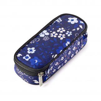 penalhus med blå blomster - alps BOX fra JEVA