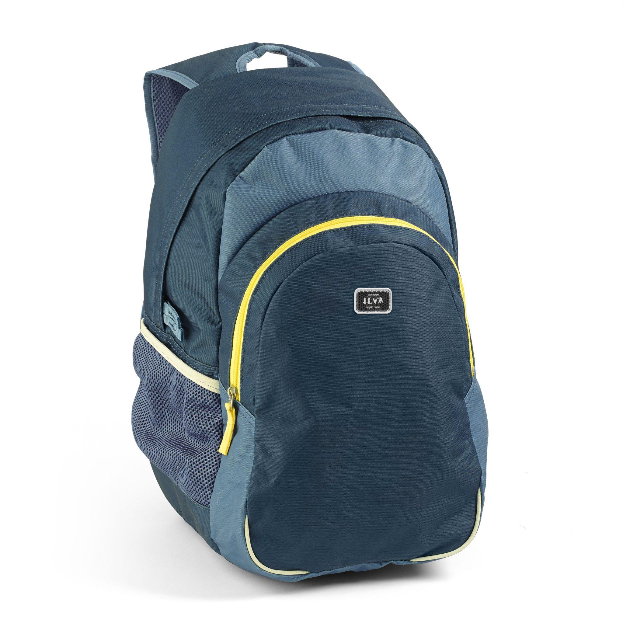 e80faa184f6 Blå billig rygsæk til drenge i JEVA's altid gode kvalitet. Let vægt ...