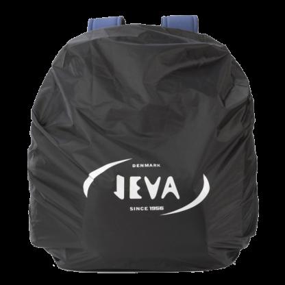 sort regnslag med elastik til skoletaske eller rygsæk
