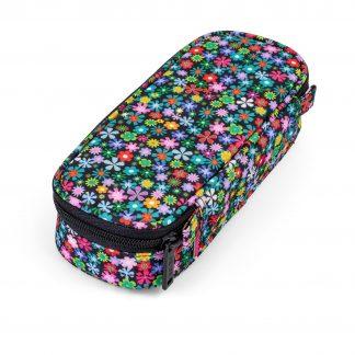 BOX penalhus til piger - meadow med blomster