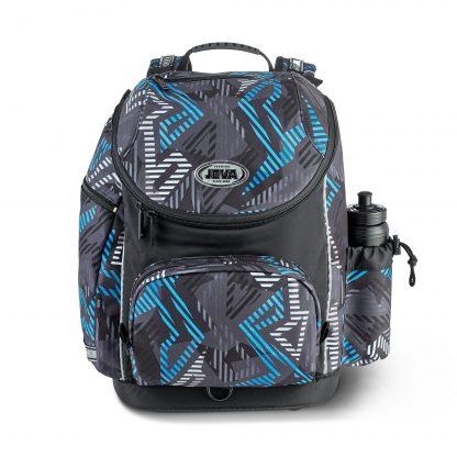 hybridskoletaske med ergonomisk ryg der kan finindstilles