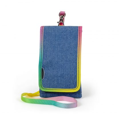 Mobiltaske i denim - yippie smartphonecover fra JEVA