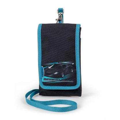 taske til mobil telefonen, med flere lommer