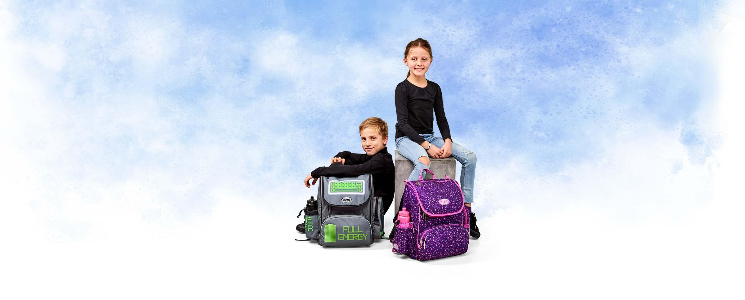 skolerygsække og -tasker til børn og voksne