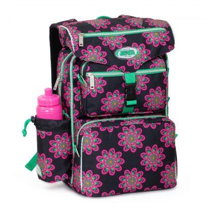 begynder skoletaske til piger - glow BEGINNERS fra JEVA