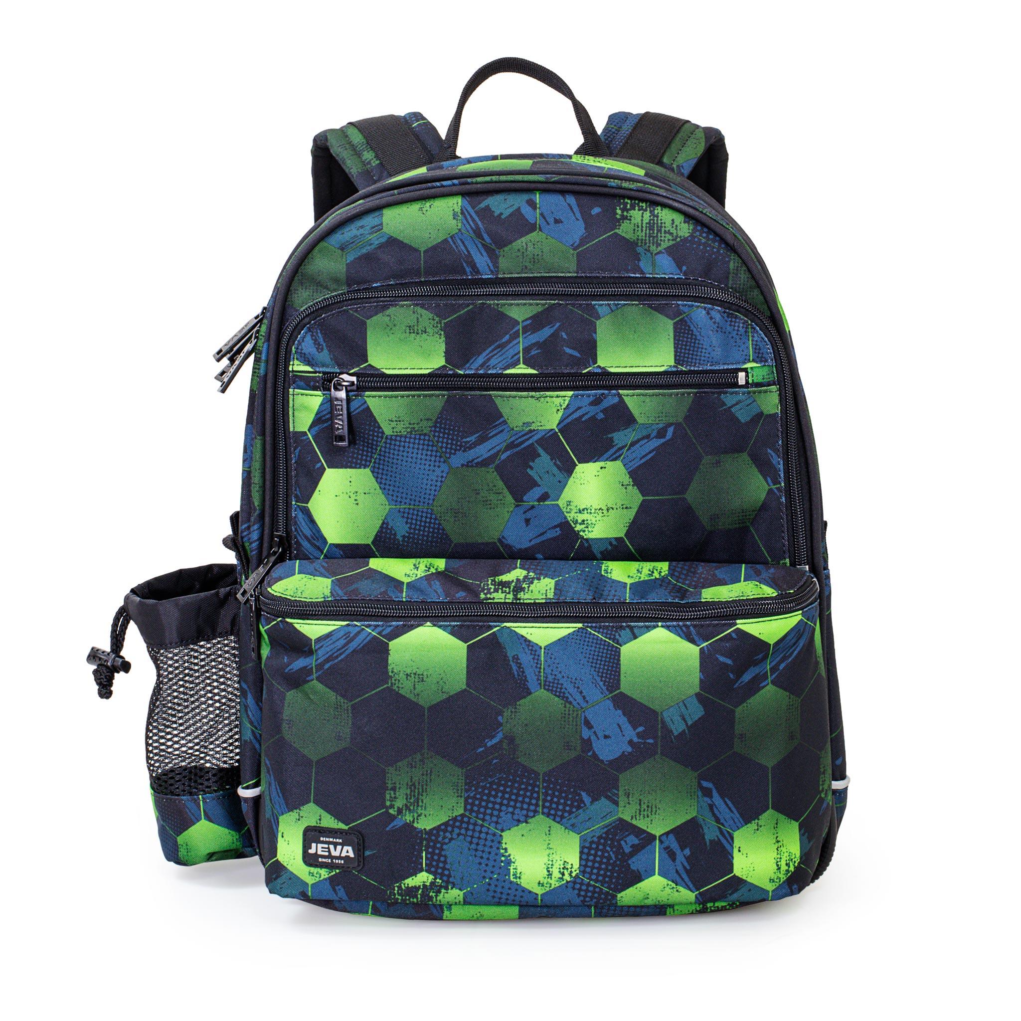 eca21881f58 Skolerygsæk til 2.-5. klasse? Se JEVA's seje rygsæk Cube SQUARE.