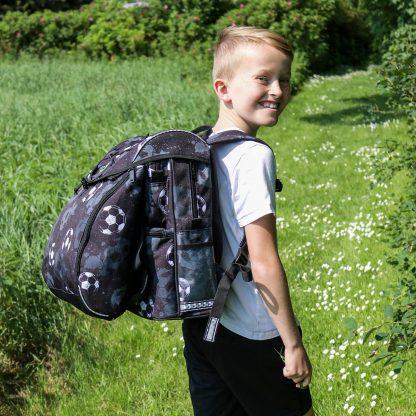 fodbold skoletasker 2019 til drenge i 0-3 klasse
