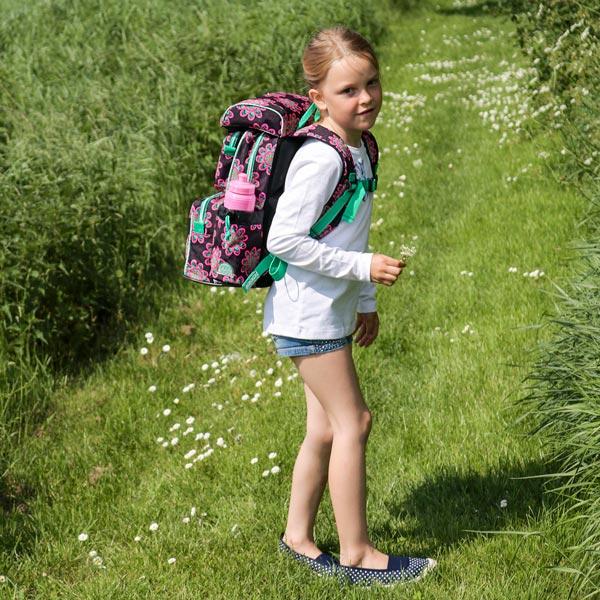 glow beginners skoletaske til 0-2 klasse