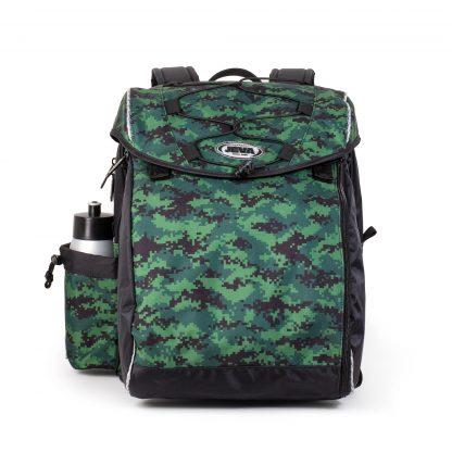 Skoletaske med pixeleret camouflage