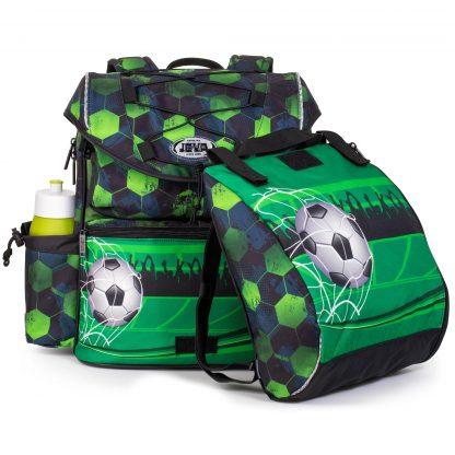 fodbold skoletaske med gymnastikposen aftaget
