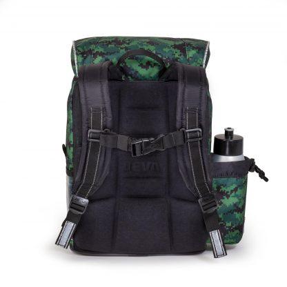 begynderskoletaske med ergonomisk foam-back