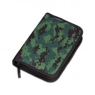 penalhus med pixeleret camouflage mønster