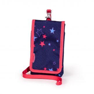 mobiltaske med stjerner