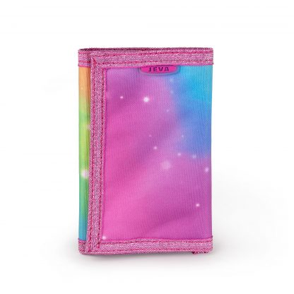 lyserød pung
