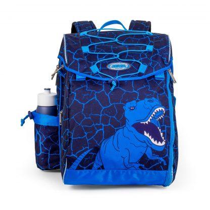 skoletaske med dinosaurus