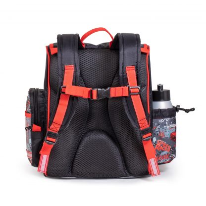 drengeskoletaske med ergonomisk rygstøtte - 0-3 klasse