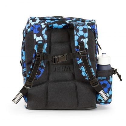 fodbold skoletaske med ergonomisk ryg