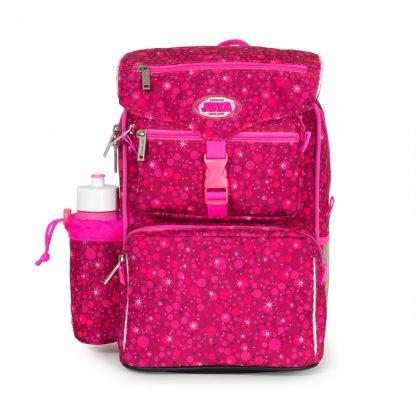 Pink begynderskoletaske