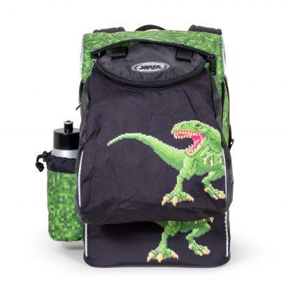 gympose påsat skoletasken