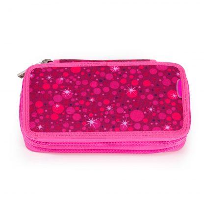 pink penalhus med indhold