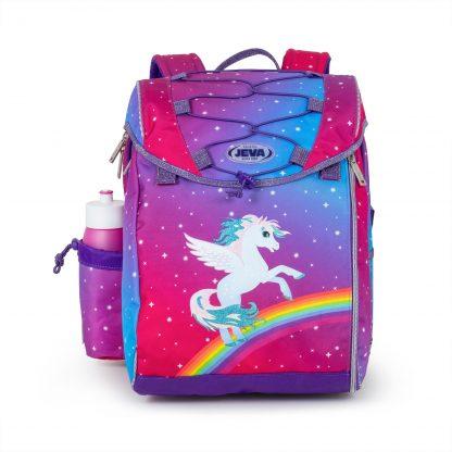 skoletaske med alicorn
