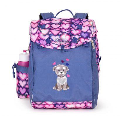 skoletaske med hund