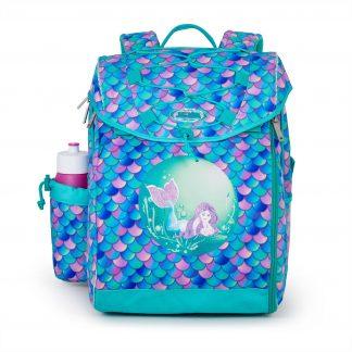 skoletaske med havfrue