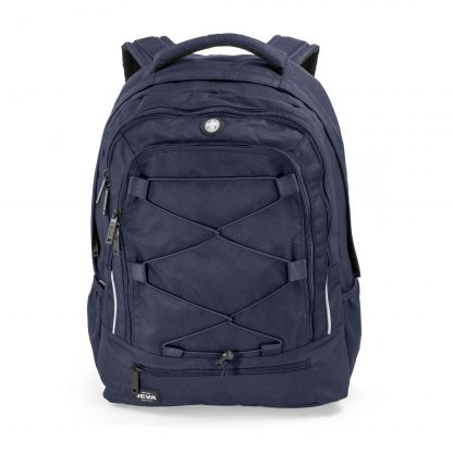 Mørkeblå rygsæk til skole