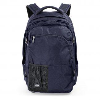 stor mørkeblå rygsæk